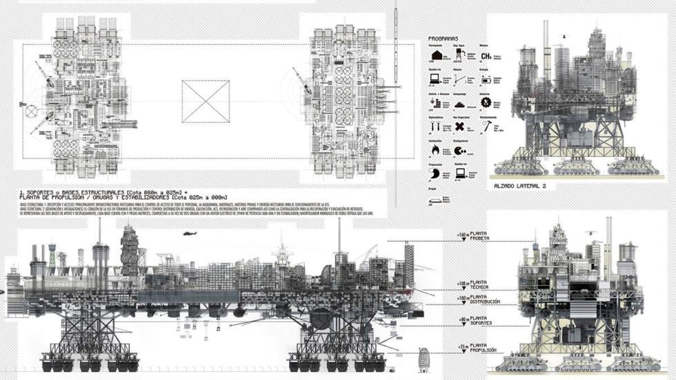 Ciudad móvil y autónoma por Zuloark