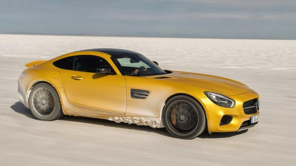Coches deportivos más vendidos octubre:  Mercedes-AMG GT - 3
