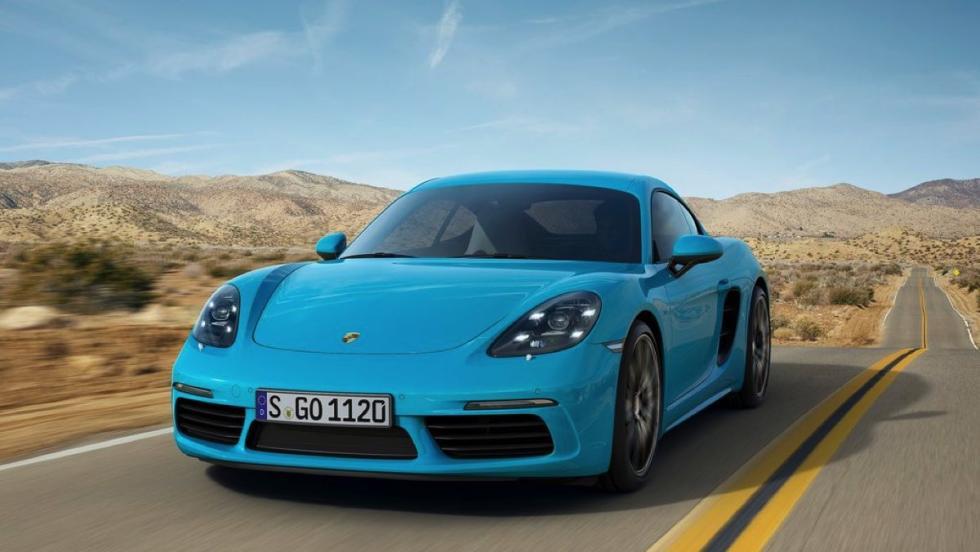 Coches deportivos más vendidos octubre: Porsche 718 - 18