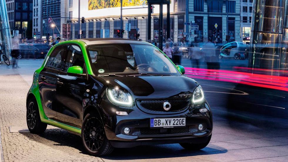 Coches eléctricos que preferirás a los de gasolina: Smart Forfour Electric Drive (I)