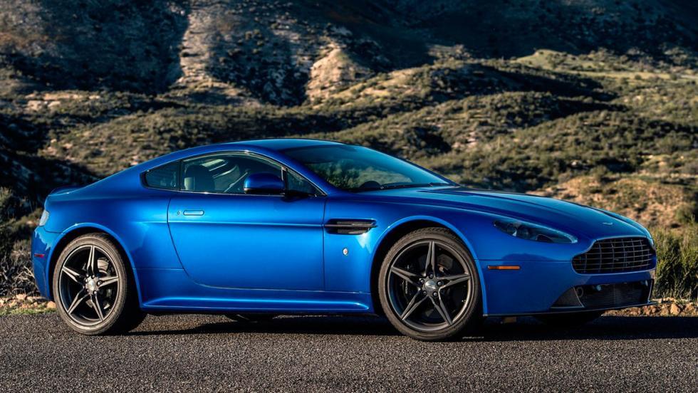 Deportivos menos vendidos: Aston Martin Vantage