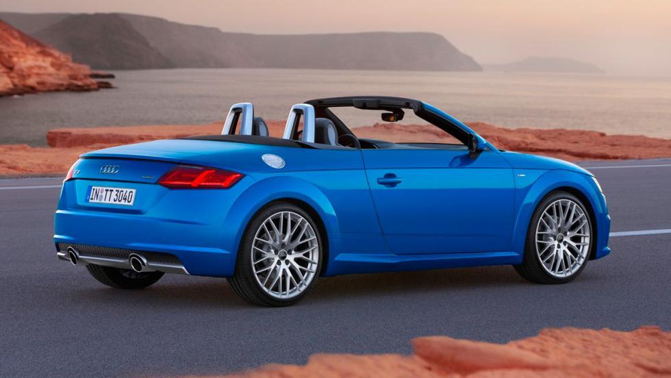 Deportivos menos vendidos: Audi TT Roadster