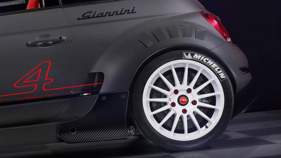 Detalle llantaca 0.Z. del Giannini 350 GP4