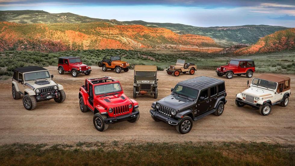 Evolución del Jeep Wrangler