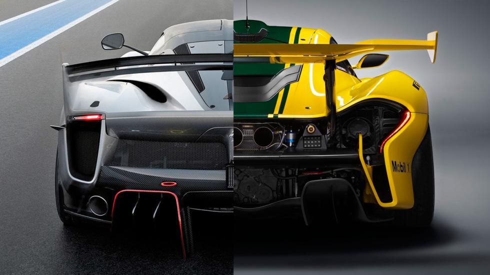 Ferrari FXX-K Evo o McLaren P1 GTR deportivos lujo hiperdeportivo