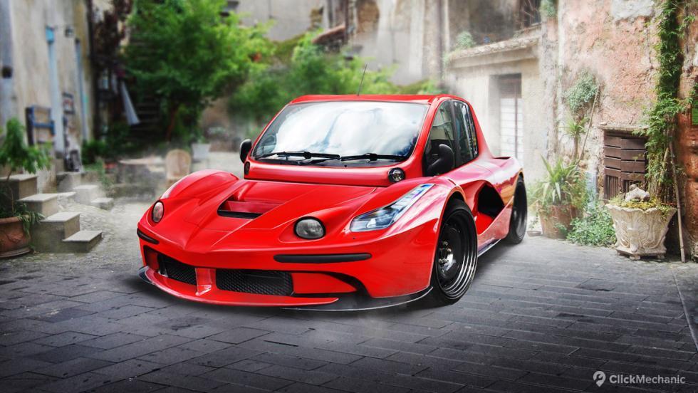 Ferrari LaFerrari/Fiat Multipla