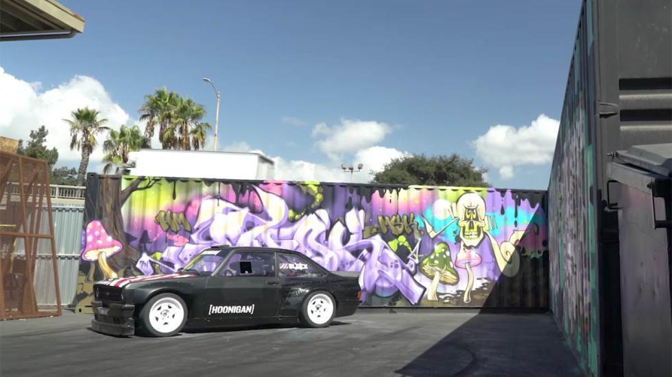 Ford Escort MK2 de Ken Block deportivo drift locura