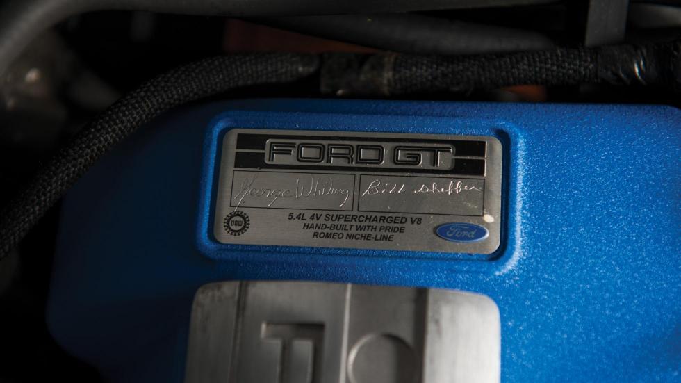 Ford GT a subasta (VIII)