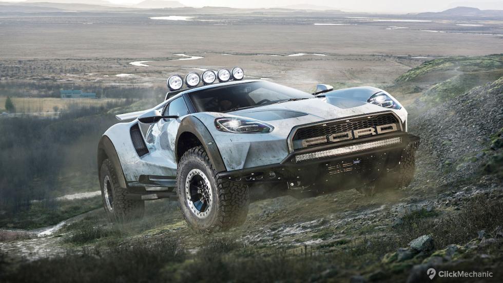 Ford GT/Ford F150 Raptor