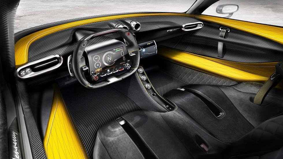 Interior del Hennessey Venom F5