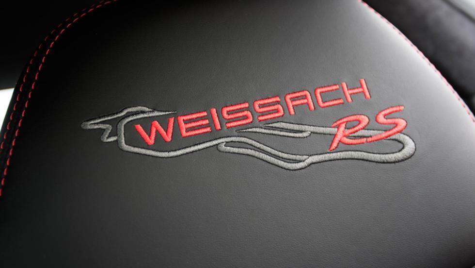 Con paquete Weissach