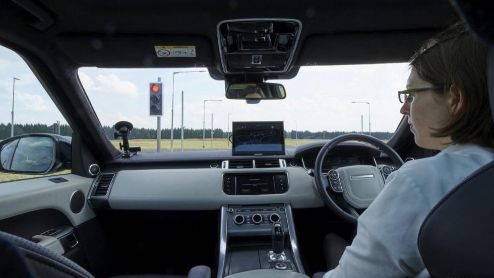 Jaguar Land Rover autónomos