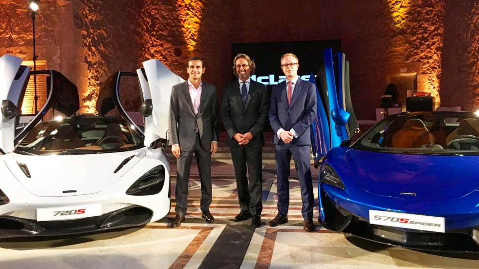 McLaren en Barcelona deportivo superdeportivo españa