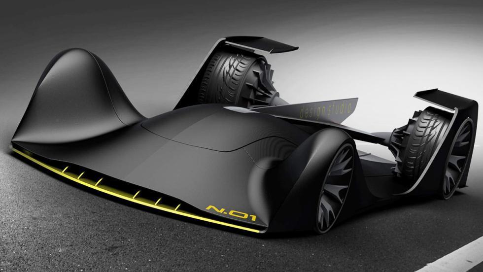 N.01 Autonomous Race Car Concept