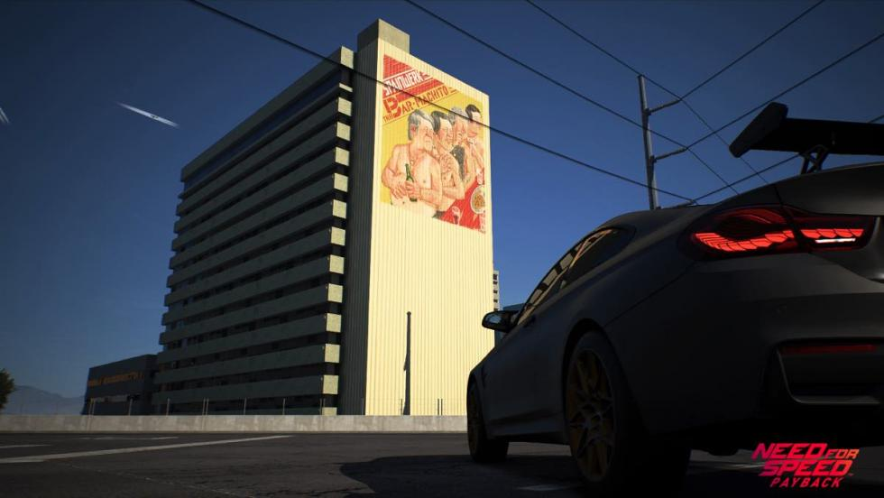 Need for Speed Payback - mural