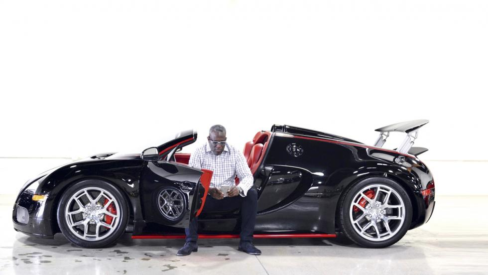 Obi Okeke. Mr Bugatti