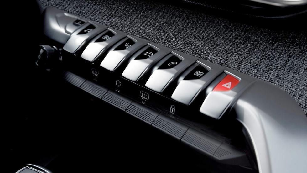 Botonera del Peugeot 3008
