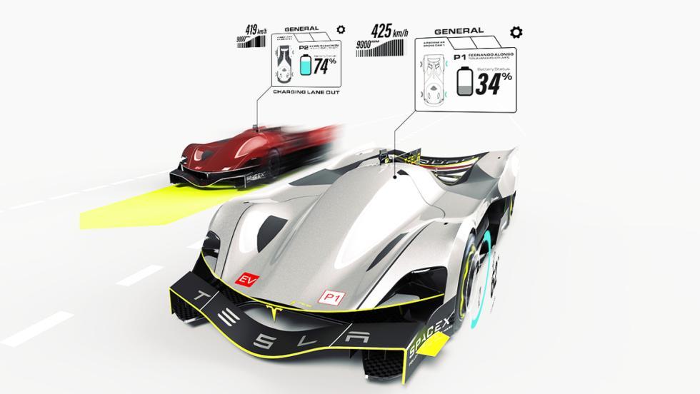 Prototipos Tesla-Le-Mans-2030