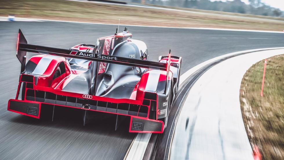 Prueba Audi R18 LMP1 (curva)