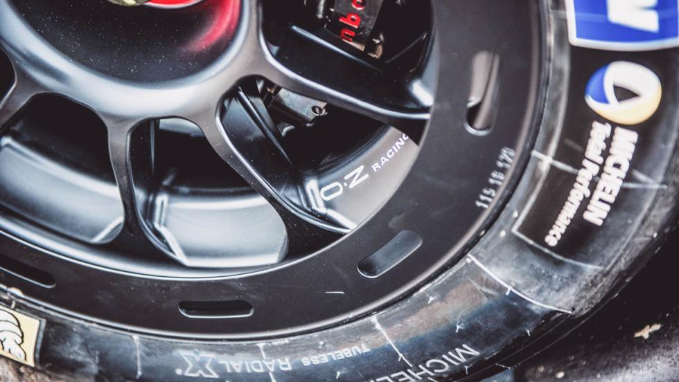 Prueba Audi R18 LMP1 (llanta)