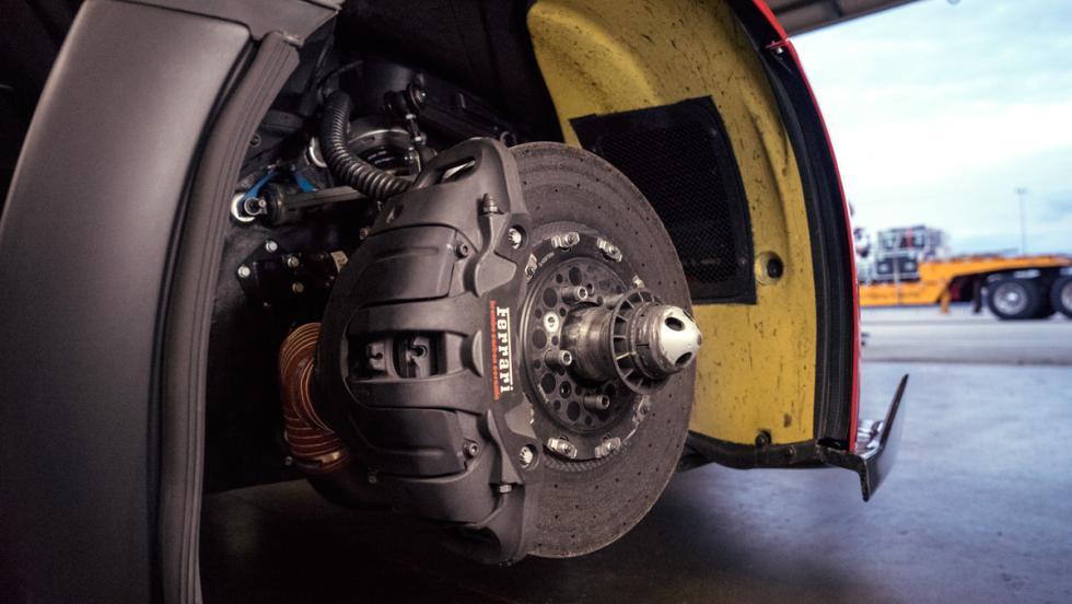 Prueba Ferrari FXXK (discos)
