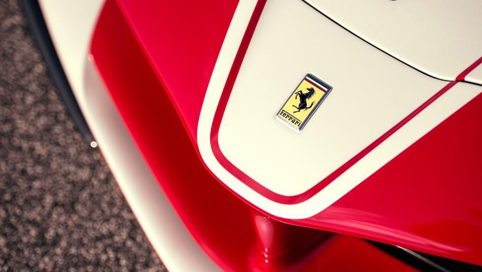 Prueba Ferrari FXXK (morro)
