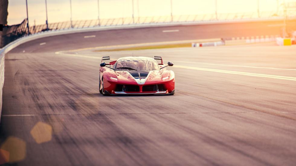 Prueba Ferrari FXXK (recta)