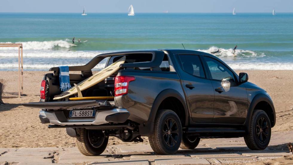Prueba Fiat Fullback Cross pick-up suv 4x4 todoterreno