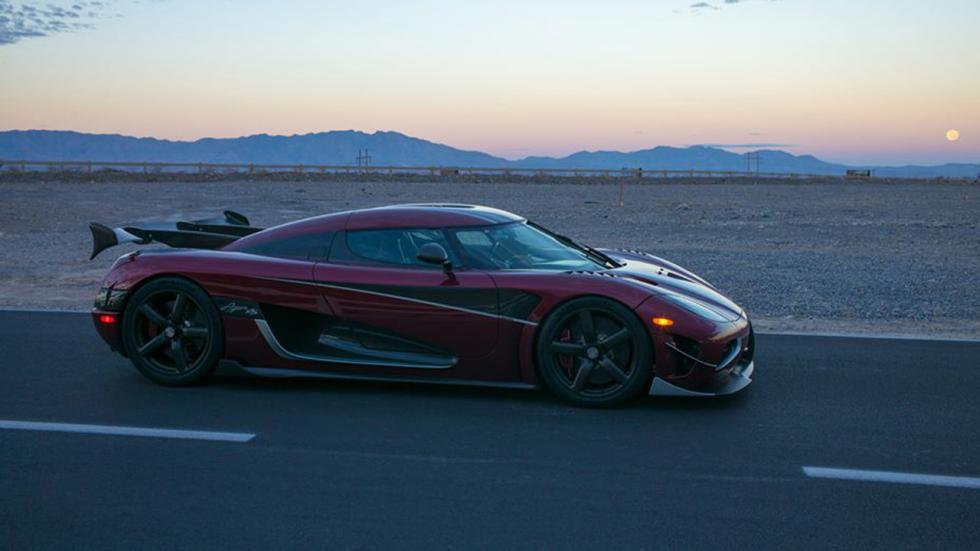 Récord velocidad Koenigsegg Agera RS