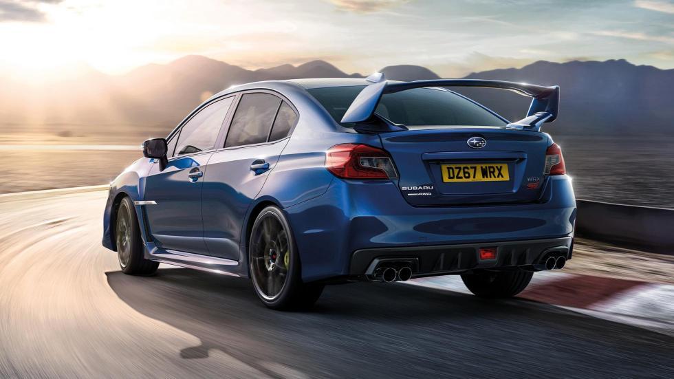 Subaru WRX STI Final Edition deportivo sedán