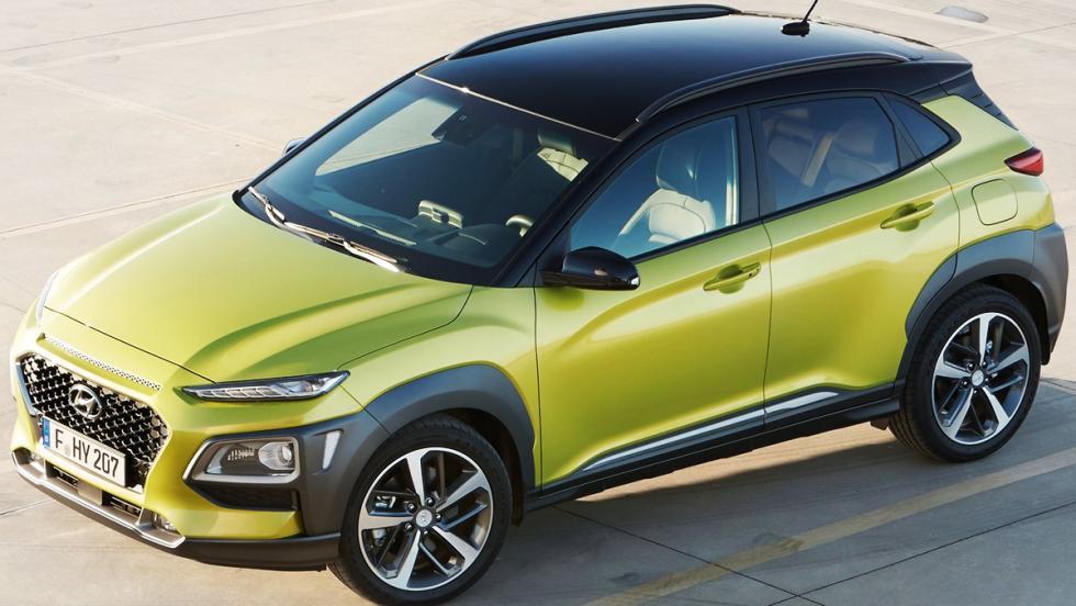 Todas las novedades del Salón del Automóvil de Los Ángeles 2017 - Hyundai Kona