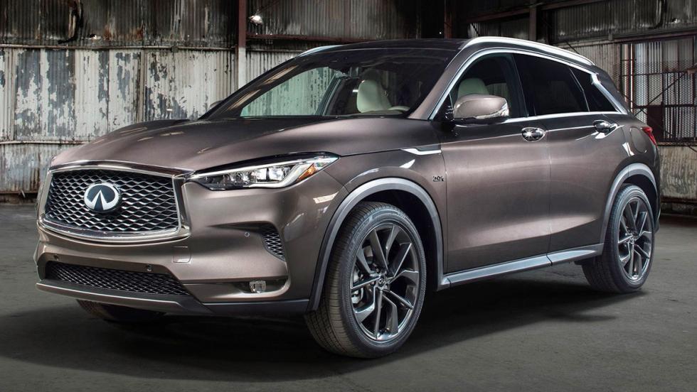 Todas las novedades del Salón del Automóvil de Los Ángeles 2017 - Infiniti QX50