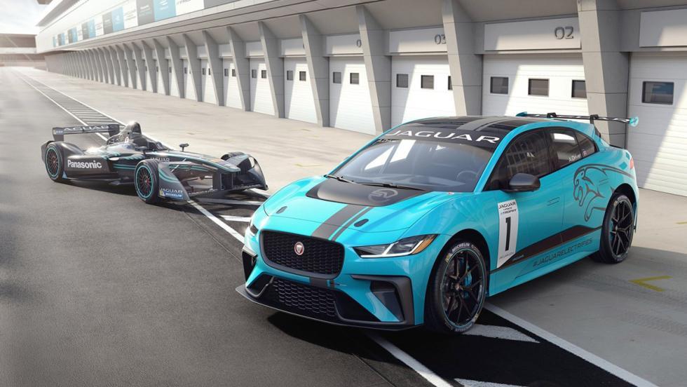 Todas las novedades del Salón del Automóvil de Los Ángeles 2017 - Jaguar i-Pace eTrophy