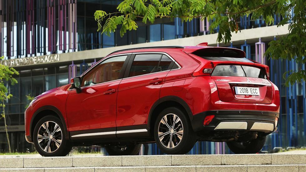 Todas las novedades del Salón del Automóvil de Los Ángeles 2017 - Mitsubishi Eclipse Cross