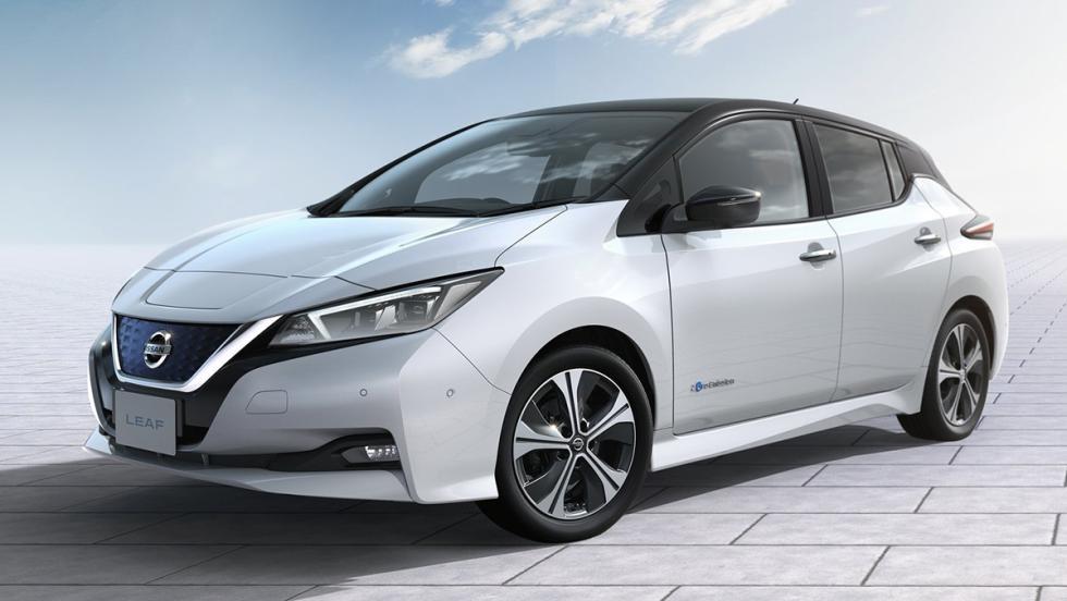 Todas las novedades del Salón del Automóvil de Los Ángeles 2017 - Nissan Leaf