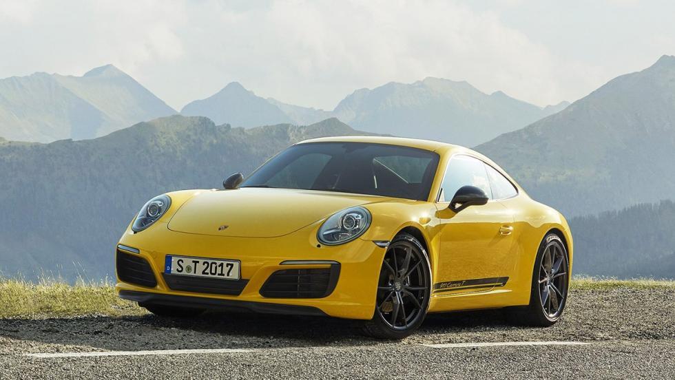Todas las novedades del Salón del Automóvil de Los Ángeles 2017 - Porsche 911 Carrera T