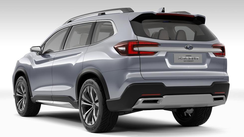 Todas las novedades del Salón del Automóvil de Los Ángeles 2017 - Subaru Ascent