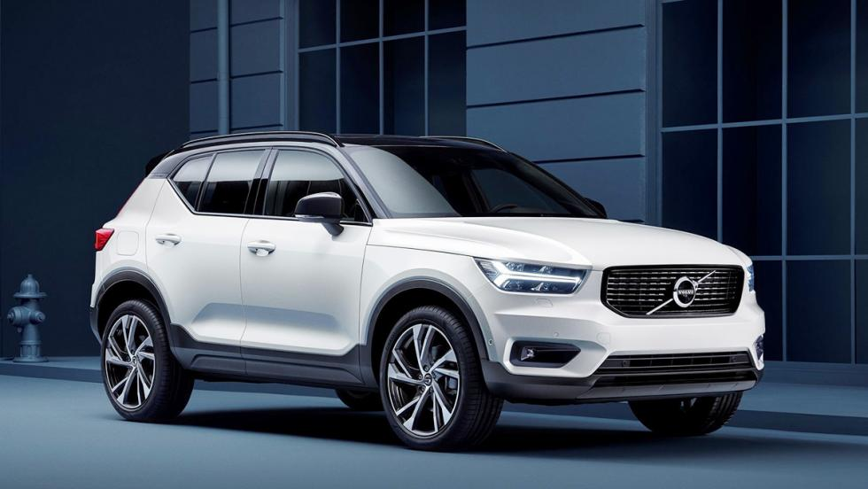 Todas las novedades del Salón del Automóvil de Los Ángeles 2017 - Volvo XC40