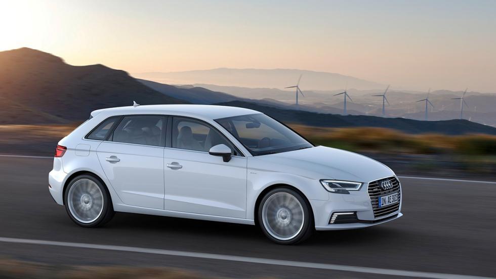 Todos los coches híbridos que puedes comprar - Audi A3 Sportback e-tron