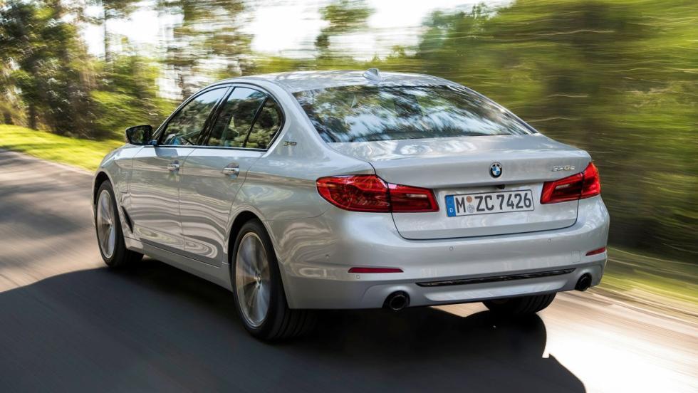 Todos los coches híbridos que puedes comprar - BMW Serie 5