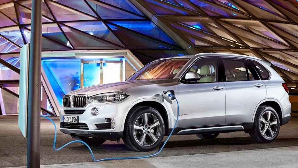 Todos los coches híbridos que puedes comprar - BMW X5