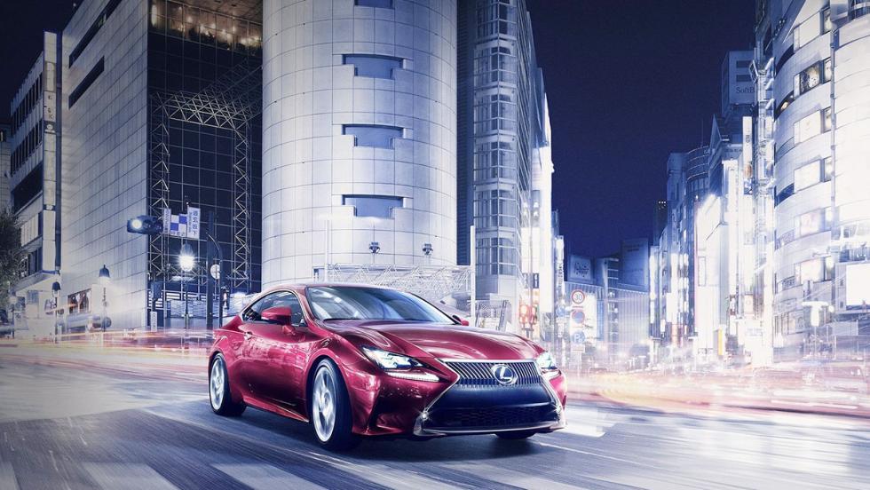 Todos los coches híbridos que puedes comprar - Lexus RC