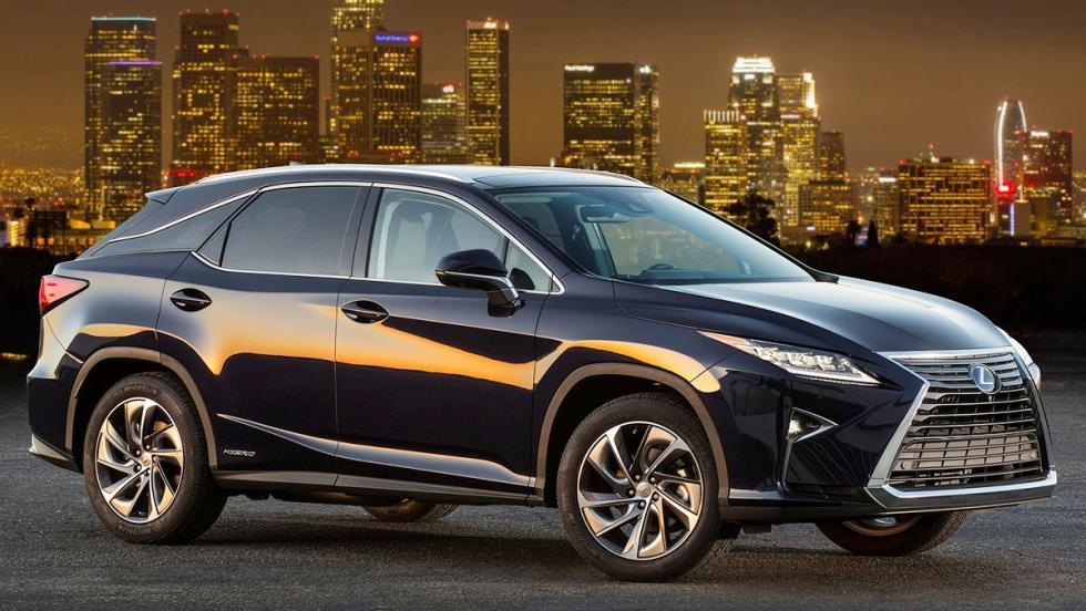 Todos los coches híbridos que puedes comprar - Lexus RX