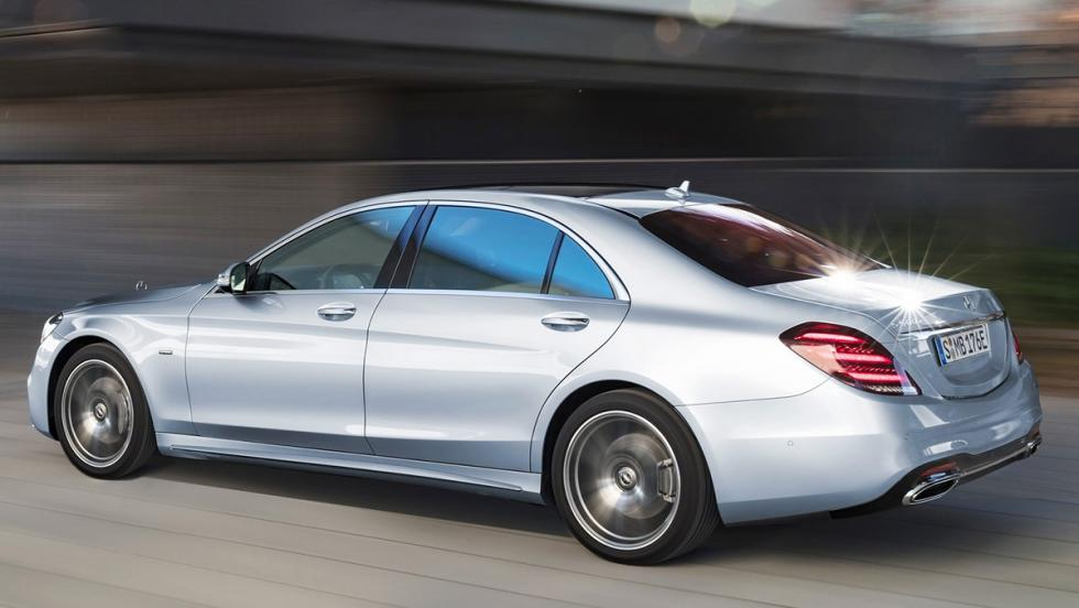 Todos los coches híbridos que puedes comprar - Mercedes Clase S