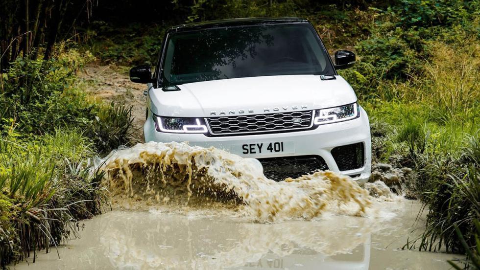 Todos los coches híbridos que puedes comprar - Range Rover Sport PHEV
