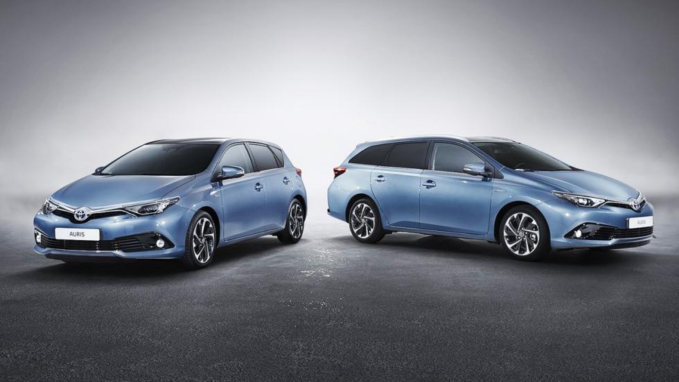Todos los coches híbridos que puedes comprar - Toyota Auris