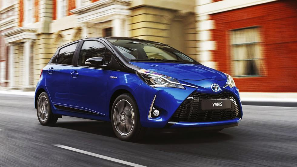 Todos los coches híbridos que puedes comprar - Toyota Yaris