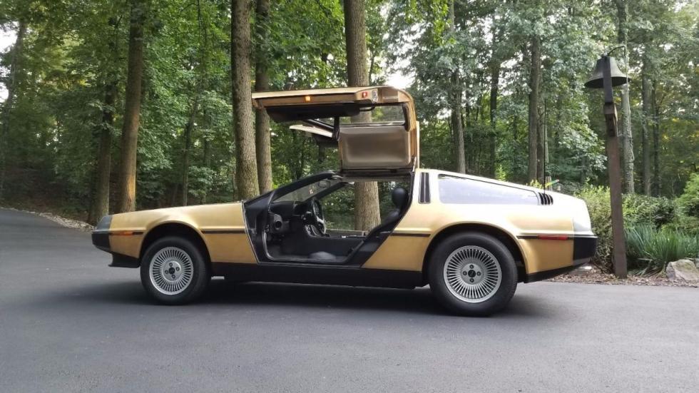 Venta DeLorean DMC-12 dorado