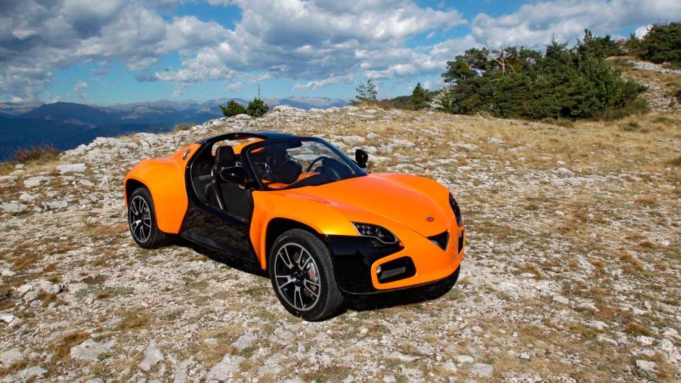 Venturi América deportivo eléctrico SUV coupe