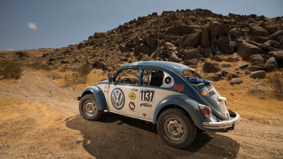El VW Beeetle de lo dará todo en la Baja 1.000